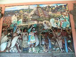 Tenochtitlan Map Mesoamerica Pre Columbian Americas