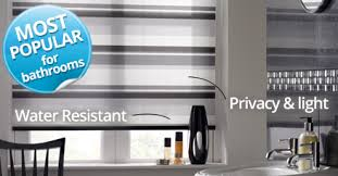 bathroom blinds waterproof u0026 blackout blinds with complete