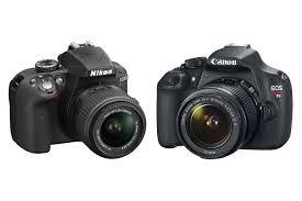 canon rebel t5 vs nikon d3300 a budget dslr face off digital