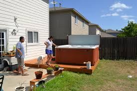 backyard tubs san antonio austin decks swimspas