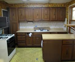 Oak Cabinet Kitchen Makeover - kitchen 1970s kitchen cabinets on kitchen with cabinets incredible