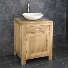 Cm Alta One Door Vanity Cabinet And Galala Round Basin - Bathroom basin with cabinet