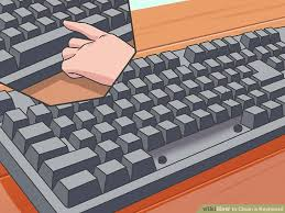 4 ways to clean a keyboard wikihow