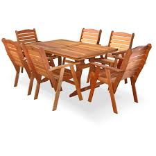 6 Seat Patio Table And Chairs Fechters Pretoria Set 6 Seater Patio Warehouse