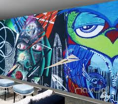 abstract graffiti owl wall murals paper art print decals decor abstract graffiti owl wall murals paper art print decals decor wallpaper idcwp ty 000032