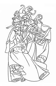 28 best disney princess coloring pages images on pinterest