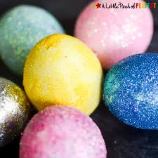 Decorate Easter Eggs With Food Coloring by Glitter Those Easter Eggs Easy Decorating Idea For Kids