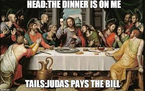 Last Supper Meme - last supper jesus memes imgflip