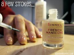 how to my first do it yourself french manicure u2013 be nice