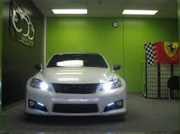 lexus is 250 led lights lexus is f with drl led u0027s delete fogs perhaps page 4