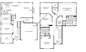 4 bedroom 2 story floor plans luxamcc org