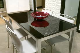 Dining Room Table Glass Top Dining Table Awesome Gallery Of Dining Room Table Glass Top