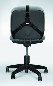 fellowes professional series back support black by office depot
