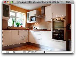 kitchen cabinets color change repainting cabinets in photoshop and elements photolesa
