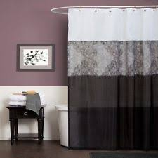 striped contemporary shower curtains ebay