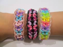 rainbow loom how to a butterfly confetti bracelet original