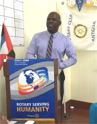 Flag Of Antigua Happy Birthday Pp Arthur U0026 Gordon Rotary Club Of Antigua