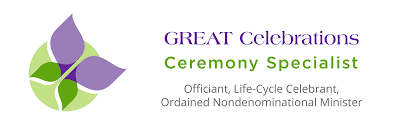 services offered by great celebrations wedding celebrant in