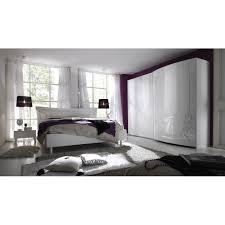 chambre 180x200 chambre complète sebilla 5 piéces laquée blanc