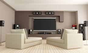 White Gold Living Room Theater Interior Luxury Home Theatre Designs With Red Curatins In Gold