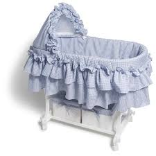 burlington babies baby bassinets home bassinets tradtional burlington baby blue