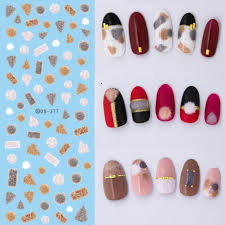 aliexpress com buy nail stickers water transfer harajuku element