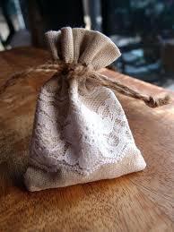 linen favor bags lace wedding favor bags linen favor bags lace favor bags small