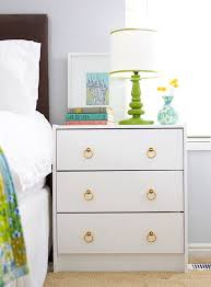 Pink Nightstand Side Table 21 Ikea Nightstand Hacks Your Bedroom Needs Brit Co