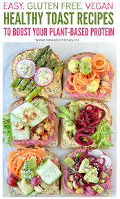 6 healthy toast recipes gluten free vegetarian sweetashoney