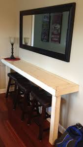 best ideas about small bar table pinterest bars dad built this farmhouse snack bar buffet nice for small area