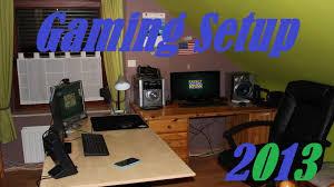 chambre de gamer gaming setup 2013 ma config et ma chambre de gamer edition 2 0