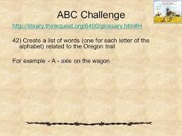 the oregon trail ppt download