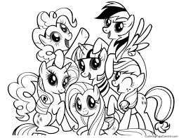 my little pony u2013 friendship is magic 01 coloring page coloring