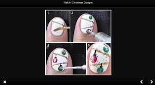 nail art christmas designs android apps on google play