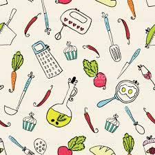pattern of kitchen utensils design elements of kitchen stock