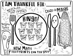 thanksgiving placemat for kids thanksgiving epson business blog