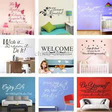 Kids Room Wall Decor Stickers by Wall Quote Decals Vinyl Wall Art Stickers Room Wall Decor Kids