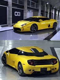second lamborghini gallardo zagato rolls out second lamborghini 5 95 in yellow