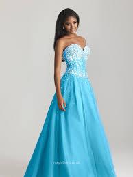 blue tulle beaded sweetheart strapless ball gown floor length long