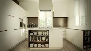 modern kitchen in center room ideas