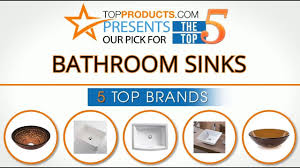 best bathroom sink reviews 2017 u2013 how to choose the best bathroom