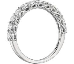 infinity diamond ring 1 ct tw infinity diamond ring in platinum shop for jewelry
