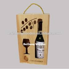 gift packaging for wine bottles wholesale pine wood gift packing box wooden wine glass box buy