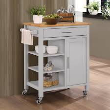 Dolly Madison Kitchen Island Cart Home Styles Dolly Madison Prep U0026 Serve Kitchen Cart White