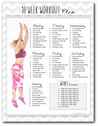 at home workout plans for women 10 week workout plan to insanity back