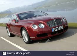 bentley coupe red car bentley continental gt model year 2003 coupe luxury stock