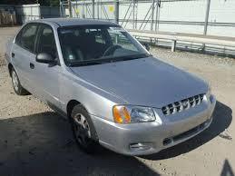 2002 hyundai accent sedan reconstructed prev salvage 2002 hyundai accent sedan 4d 1 6l 4 for