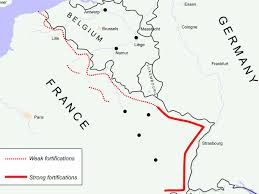 World War 1 Map Of Europe The Story Of The Maginot Line Business Insider