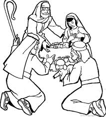 Bible Story Coloring Pages Nativity Coloringstar Children Bible Stories Coloring Pages