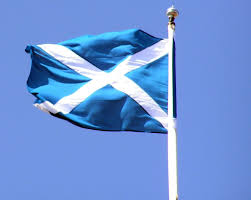 Blue And White Flag Cross Saltire U2013 Kevin Wilson